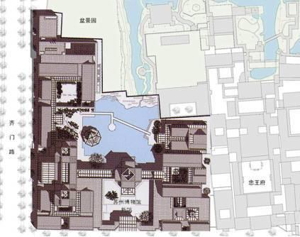 迷园平面图