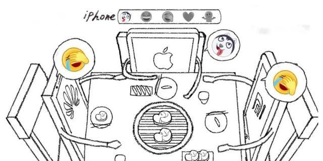 闲得慌!大数据分析表情包,iphone喜欢二哈,华为小米喜欢捂脸图片