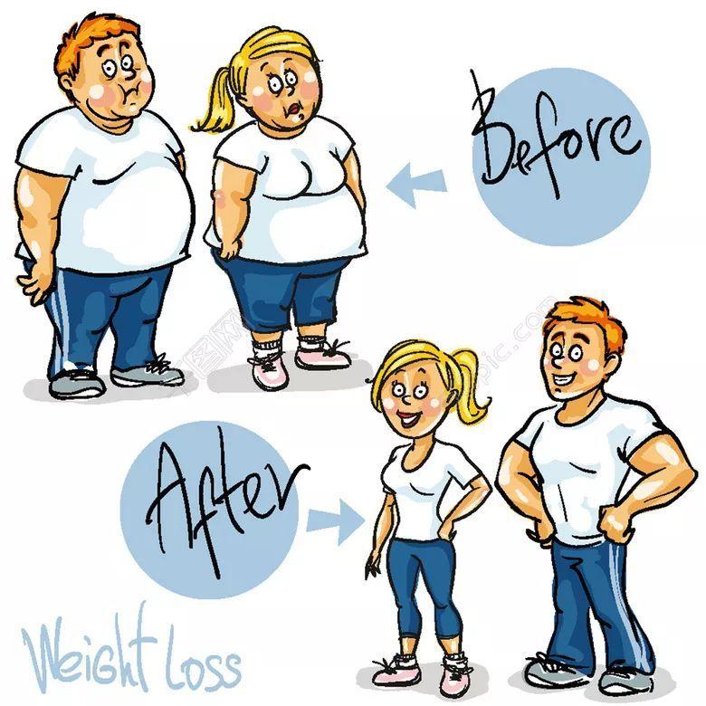 减肥期间晚上吃了大餐图片