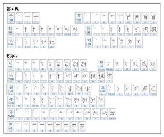 这30个汉字笔顺,十个学生九个错,家长别瞎教