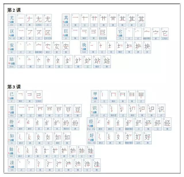 语文老师发怒 这30个汉字笔顺,十个学生九个错,家长别瞎教