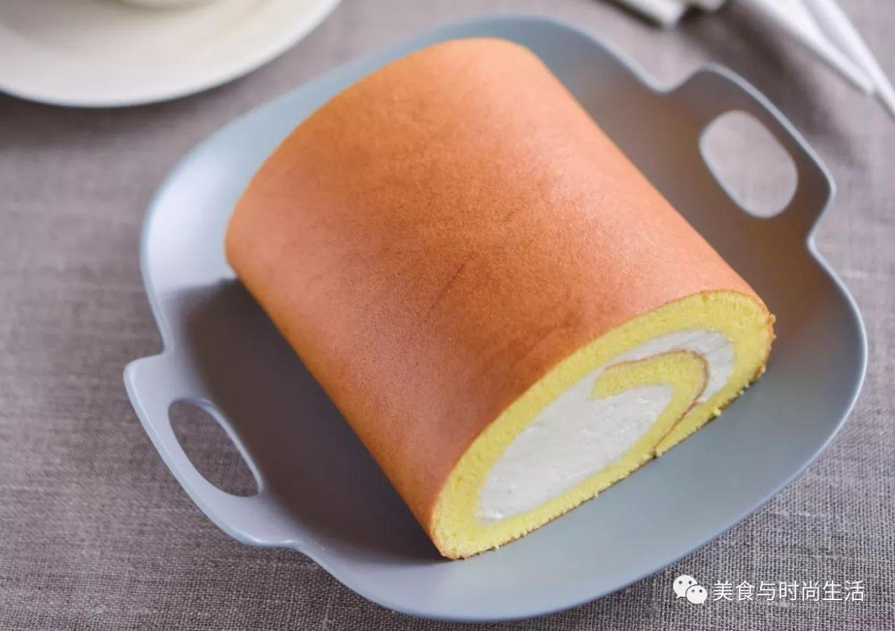 舒芙蕾蛋糕卷 口味香浓 喜欢吃卷的朋友们试试看吧