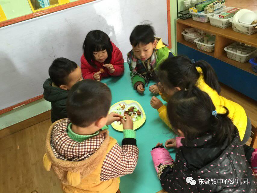 """家园共育,携手并进--记东湖镇中心幼儿园""""a家园美食家长助教月""""v家园btv美食生活频道节目图片"""