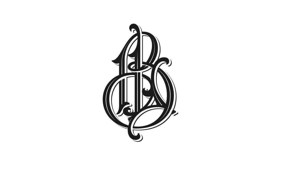手绘复古风,画出来的字体设计