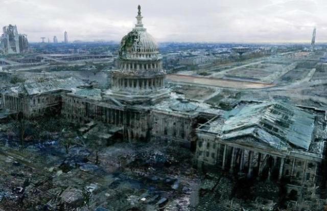 顶级欧美欧美欧美人体艺术_艺术家笔下的美国首都遇袭场景