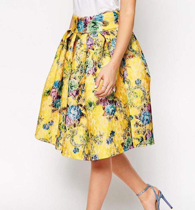 图纸集 | 5款时尚半身裙的纸样推荐