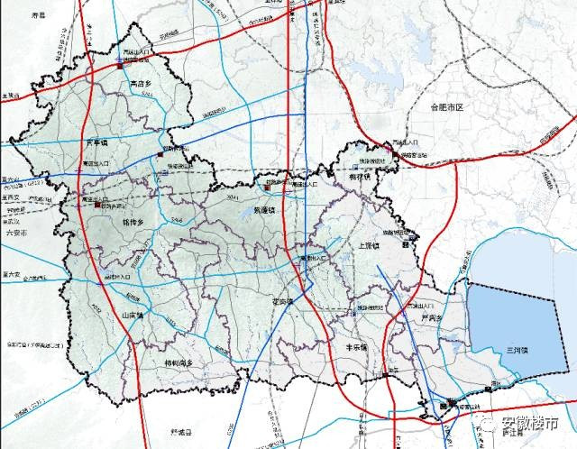 规划期内,肥西的铁路,公路也将迎来变化.