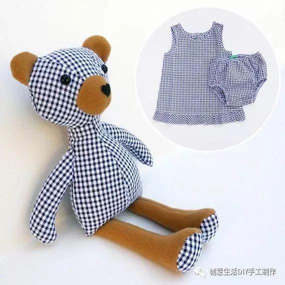 来源:创意生活diy手工制作 小孩子总是长得特别快,很多漂亮的衣服