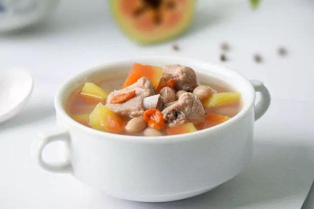 木瓜排骨花生汤