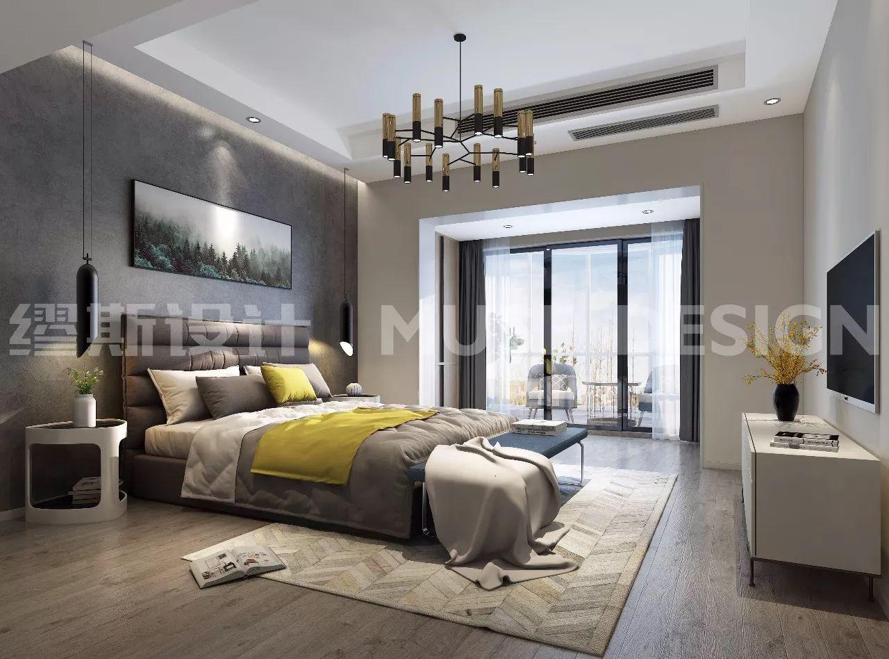 现代卧室设计,别致温馨充满创意!