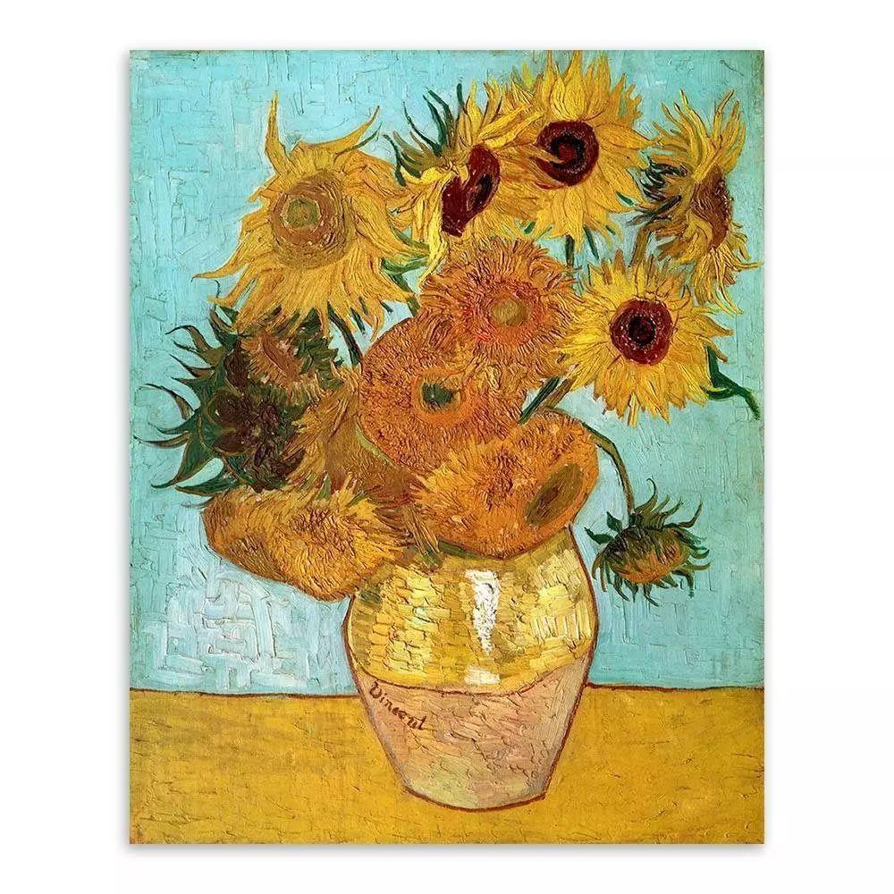 十二朵向日葵 1889
