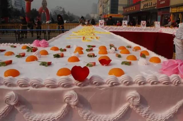 【中成百货生日party】30米长的巨型生日蛋糕来了!16日,17日自然闭店!图片
