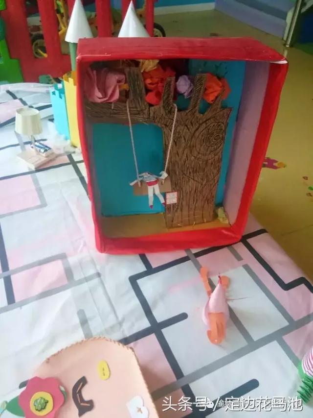 大拇指幼儿园 变废为宝 亲子手工制作大赛