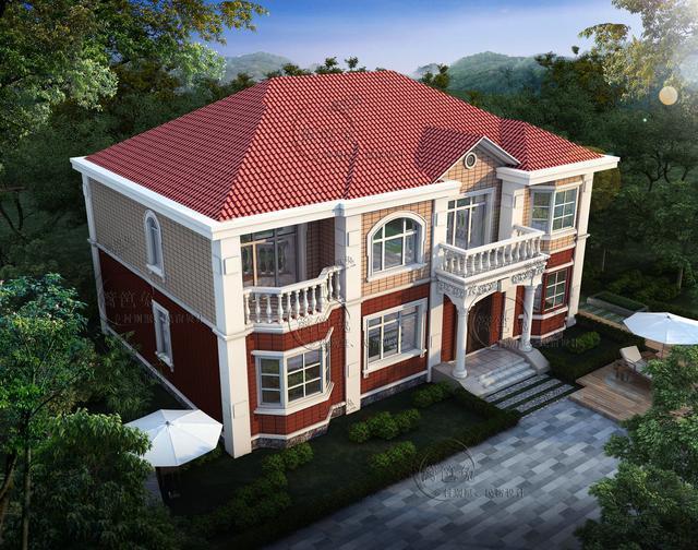 新农村自建房别墅16米x11米占地190㎡,共380平米主体造价35万!