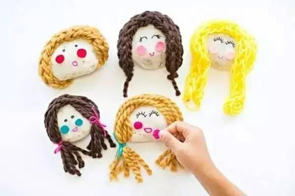 幼儿园毛线手工制作,冬季必备!