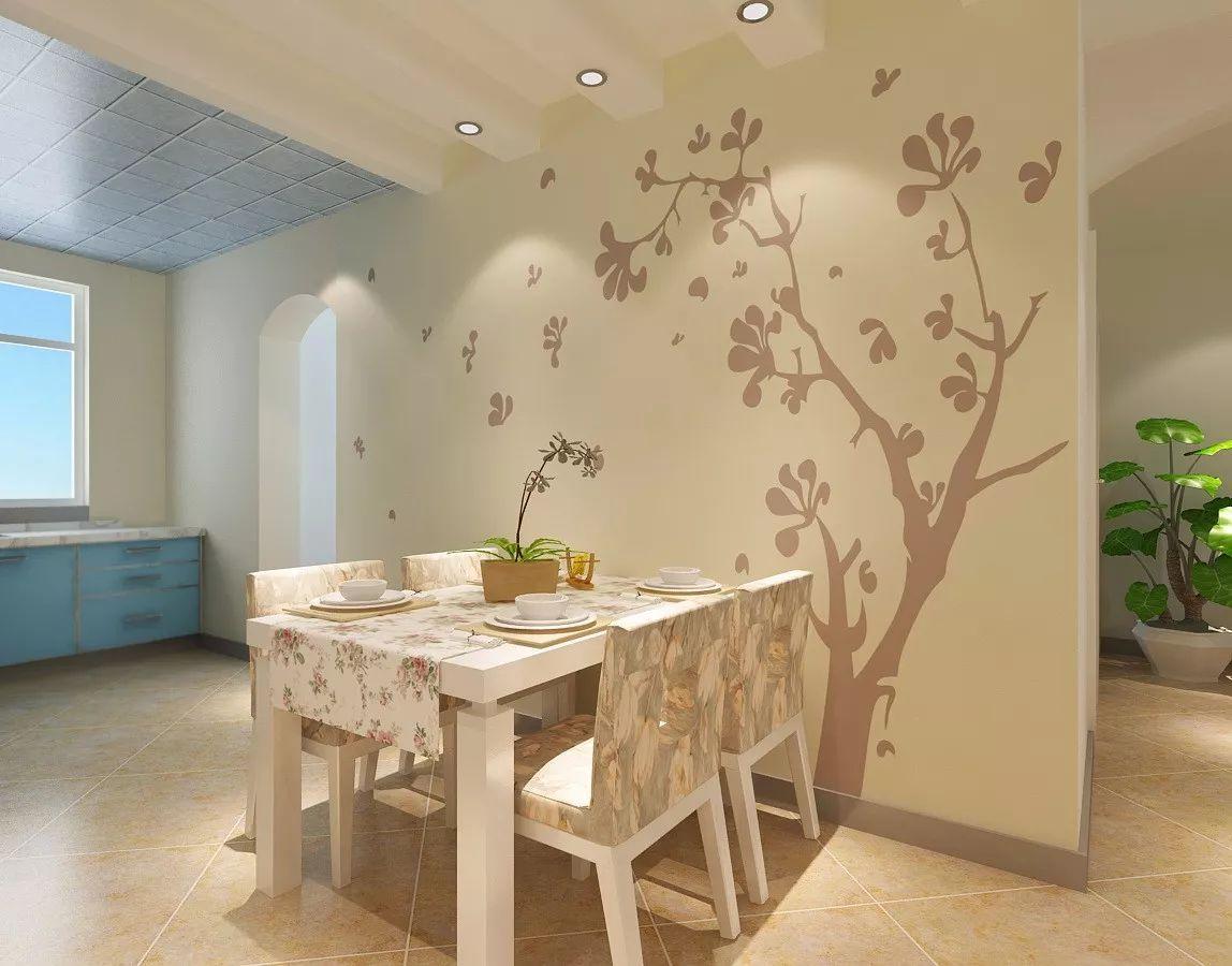 10款硅藻泥餐厅背景墙装修效果图,你觉得如何?