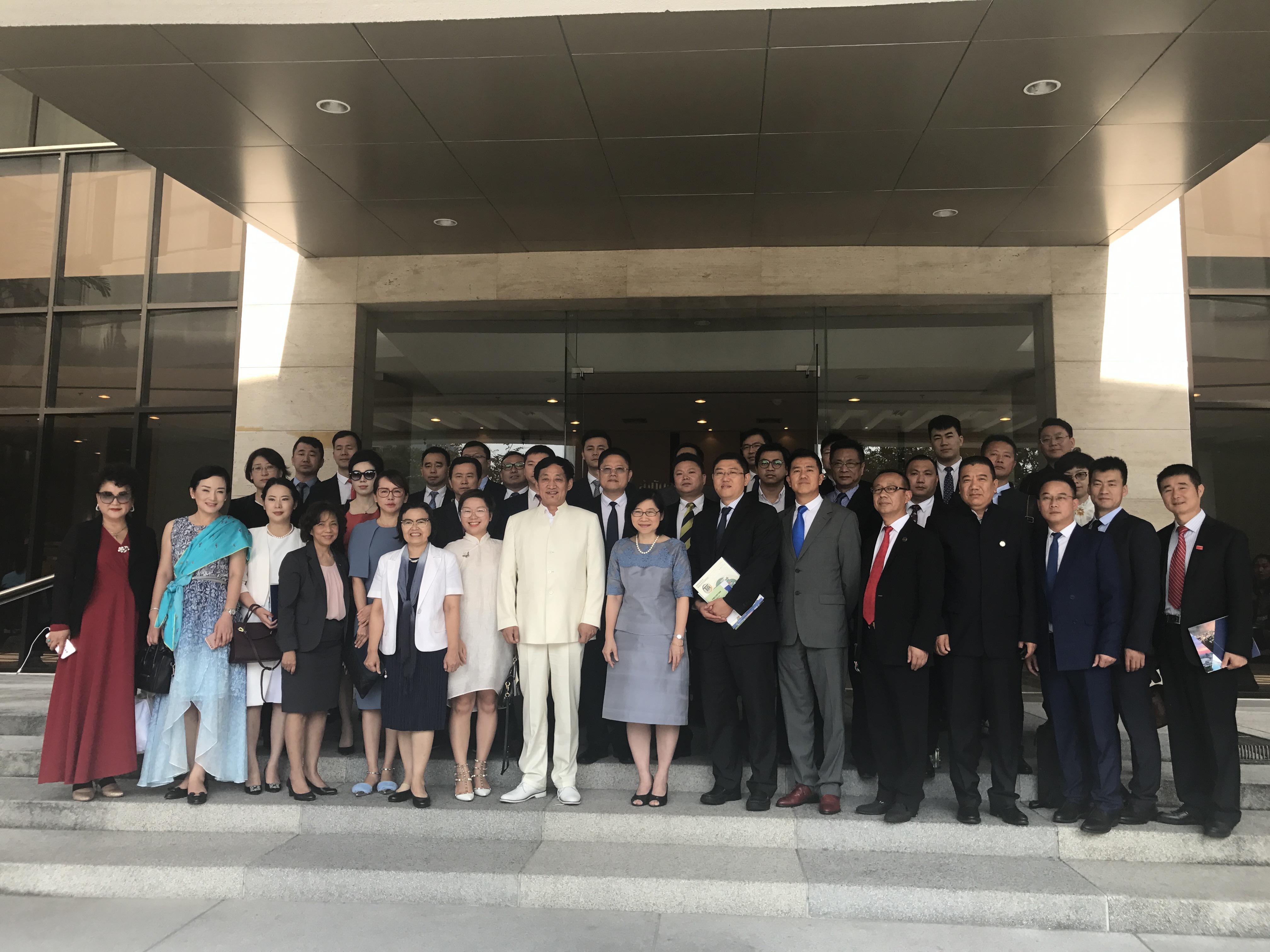 立国集团董事局主席寇立国随团出访泰国