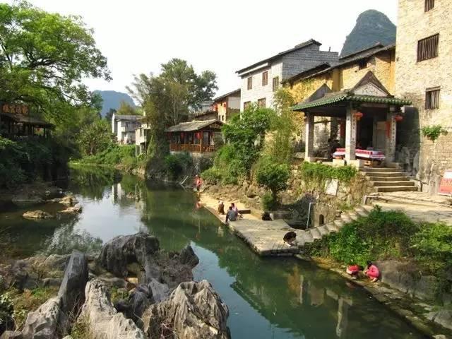 揭晓十大最受游客欢迎的广西旅游目的地,贺州的姑婆山旅游景区和黄姚图片