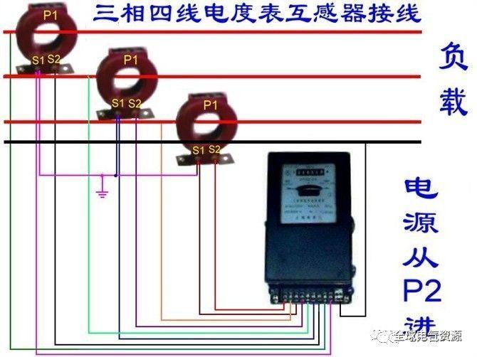 单相和三相四线电能表接线方法实例,超实用!