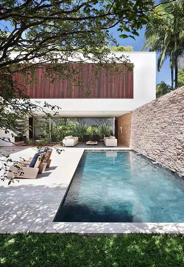 别墅设计丨中式庭院还是西式庭院好?你更喜欢哪个?图片