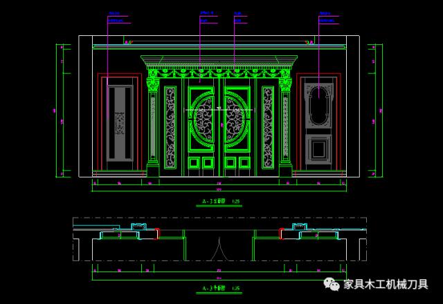 本套cad图库素材为整木设计常用cad图纸图库,包括整木展厅,楼梯护墙