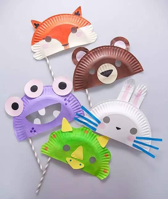 面具手工制作大象