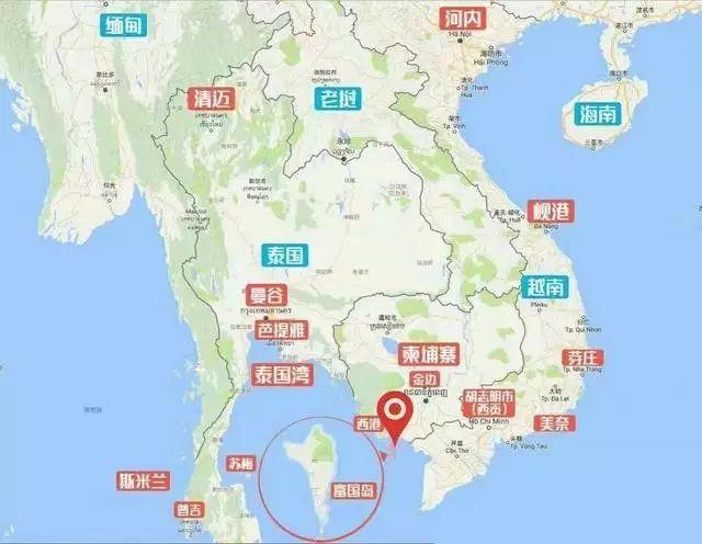 芽庄旅游手绘地图