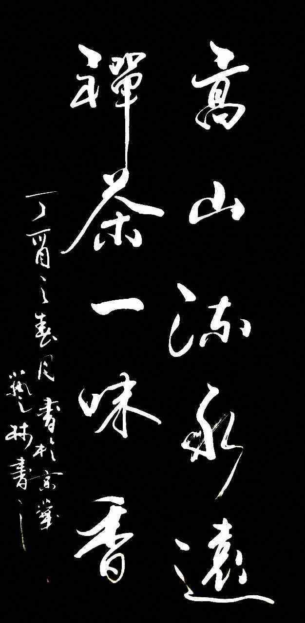 笔墨含情 丝韵丹青—— 董廷超书法作品(竖幅)欣赏
