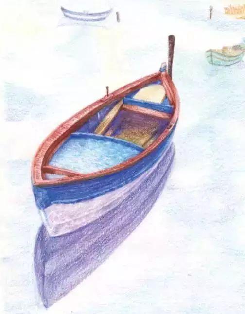 小船简笔画带颜色
