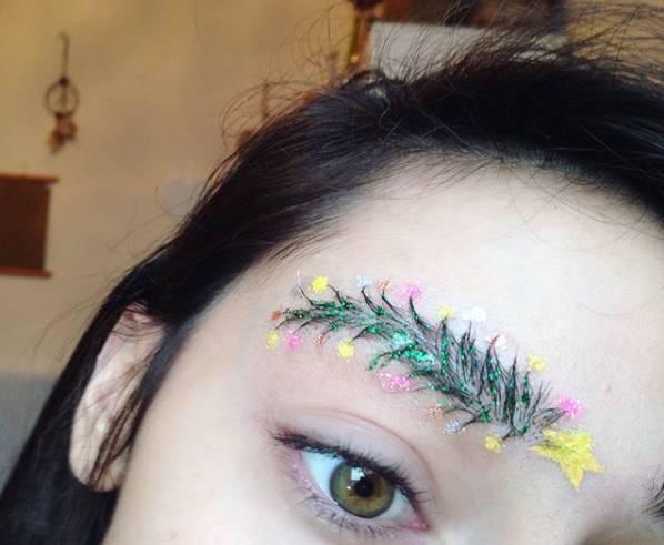 圣诞创意妆,还有什么是化妆师不会的么?_搜狐时尚图片