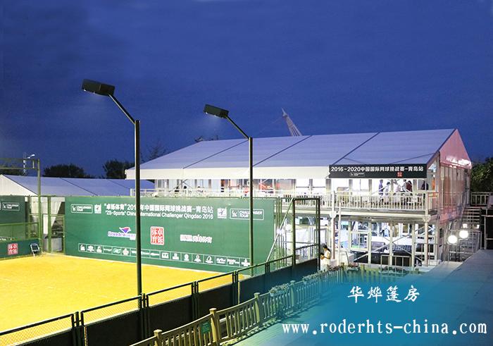 在任何一场体育赛事都能看到大量的篷房