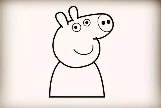 师讯网推荐—幼儿园儿童简笔画:小猪佩奇画法详解