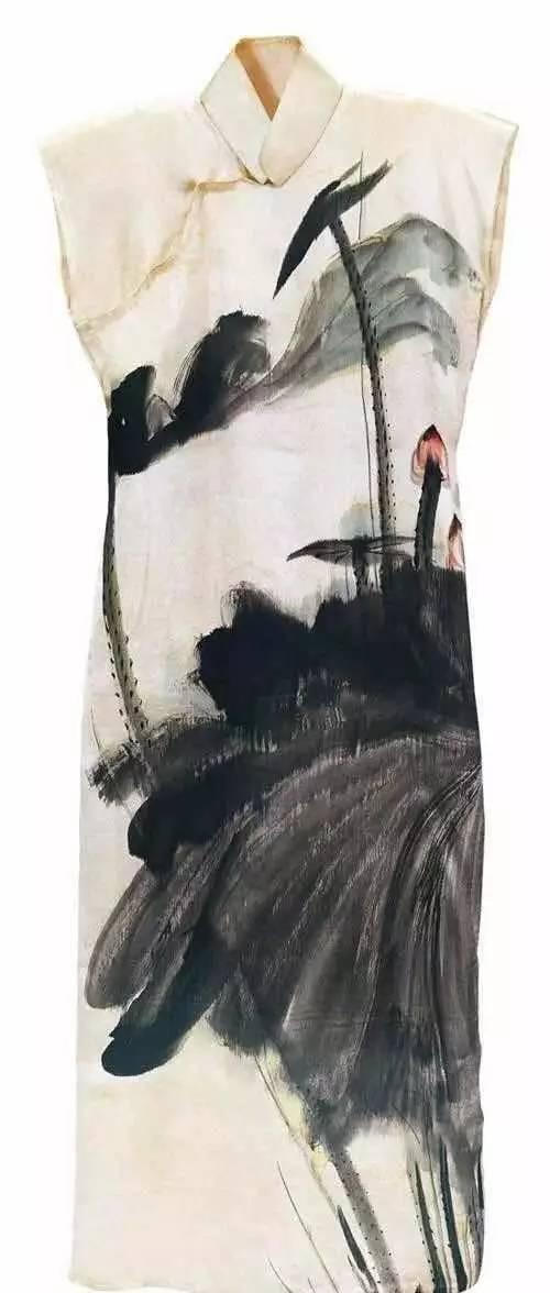 张大千 旗袍女子 的11张画今何在图片