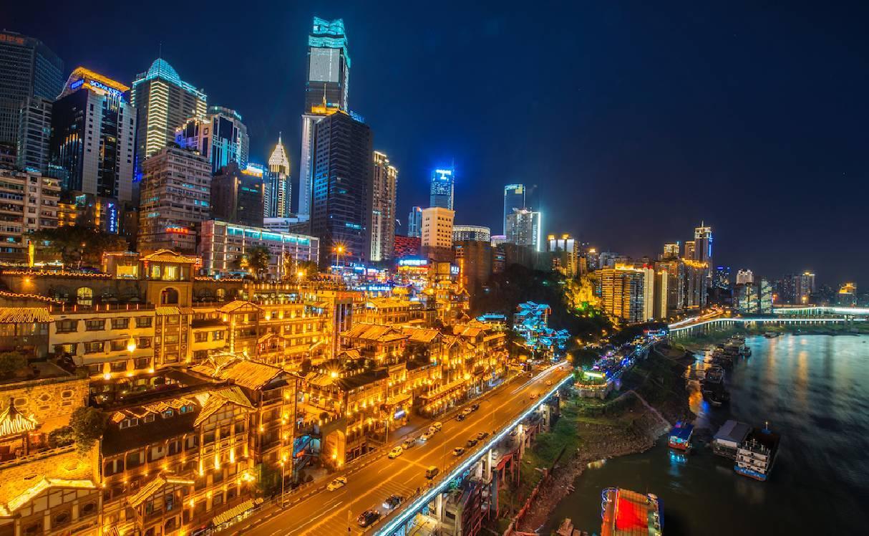12组照片,带你看重庆的一路成长_突袭网