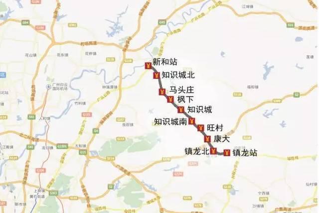 广州地铁规划图2025