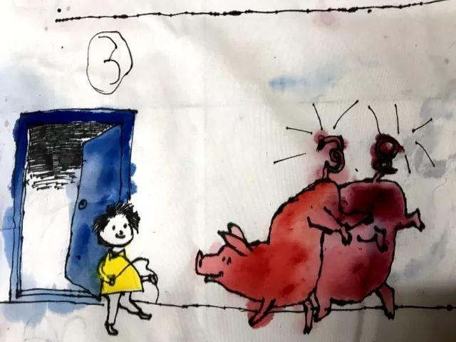 松湖实中【艺术节】|亲子手绘漫画,满满都是爱!