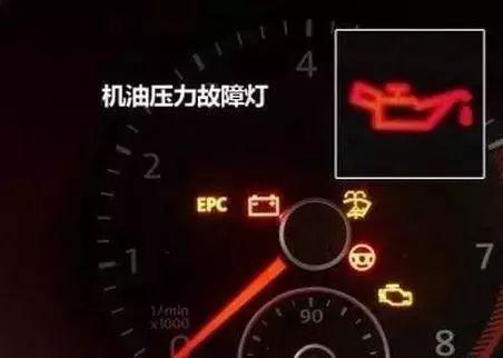 机油压力报警灯
