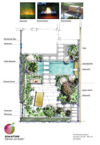 美好庭院从平面图开始