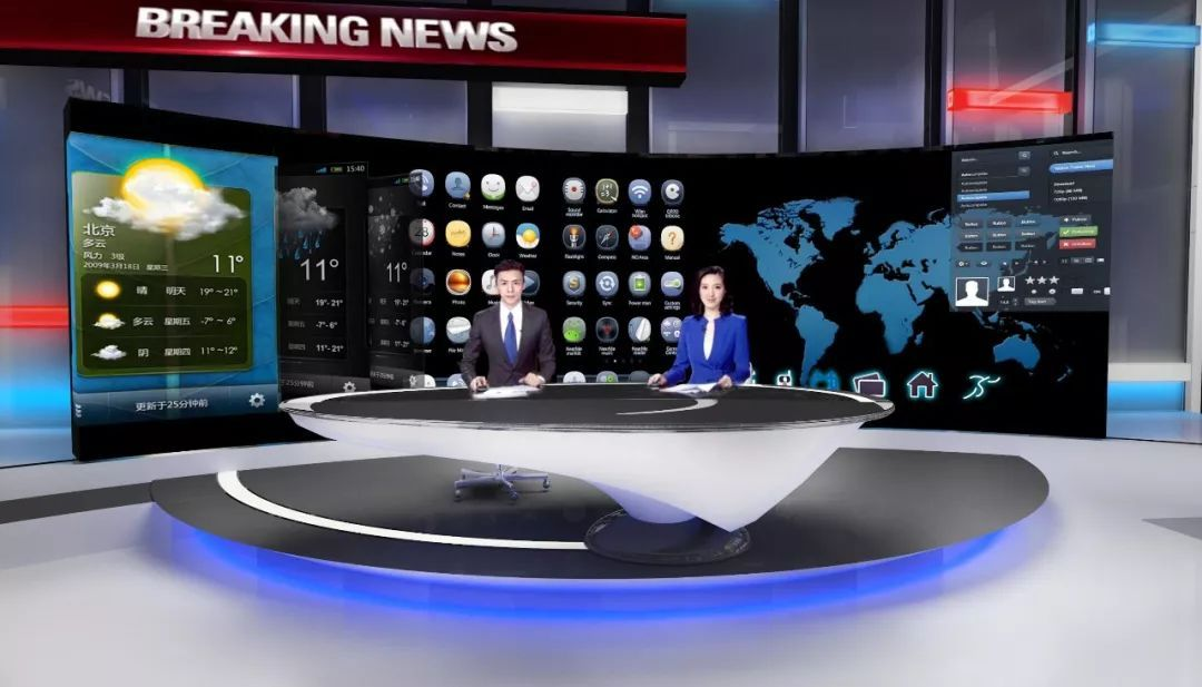 都市频道首次对外公开介绍斥资1700万元人民币打造的多功能融媒体高清图片