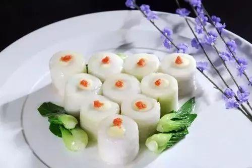 七道型美手工菜,厨师功力一露无遗!