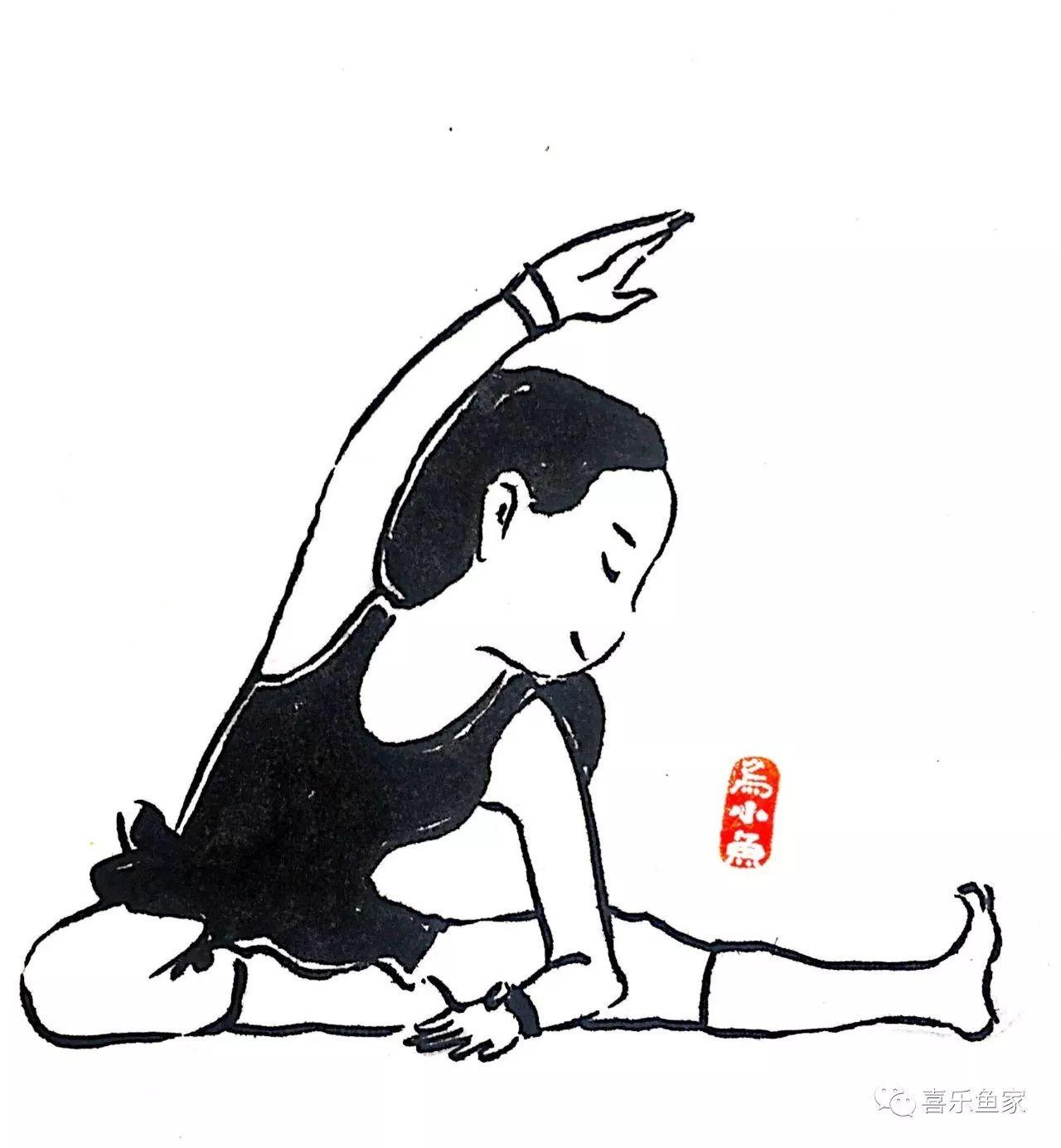 瑜伽表情萌萌哒|new