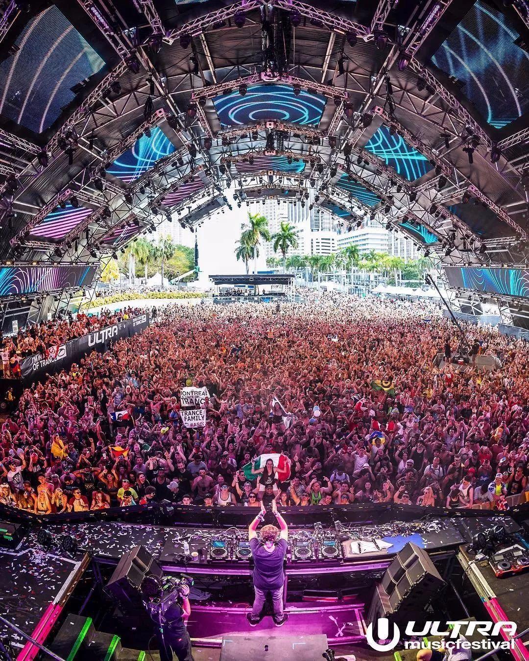 第20届Ultra Miami电音节嘉宾阵容公布!