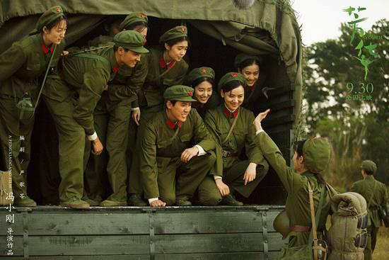 军医、干事和女兵,《芳华》里我看到的部队人物形象