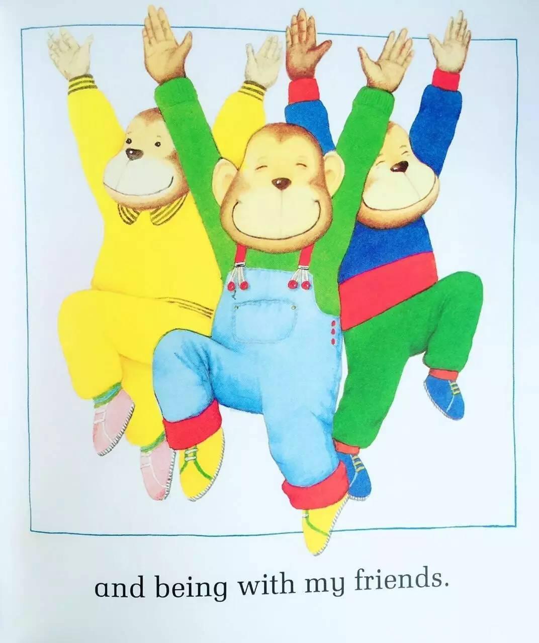 Things I Like 我喜欢的一切 -第16张图片-58绘本网-专注儿童绘本批发销售。