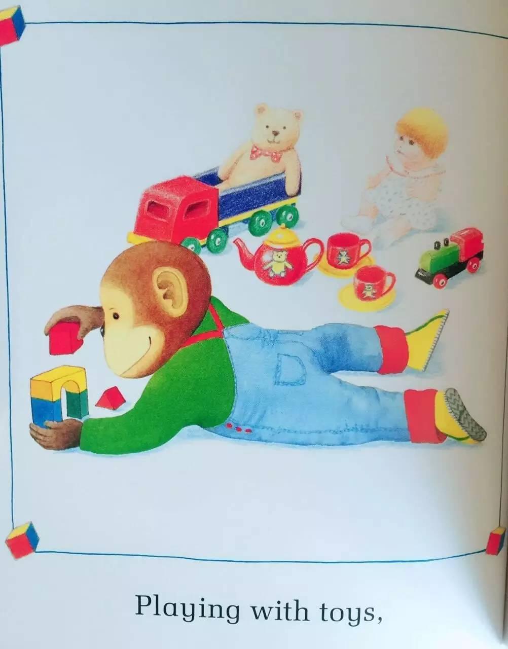 Things I Like 我喜欢的一切 -第5张图片-58绘本网-专注儿童绘本批发销售。
