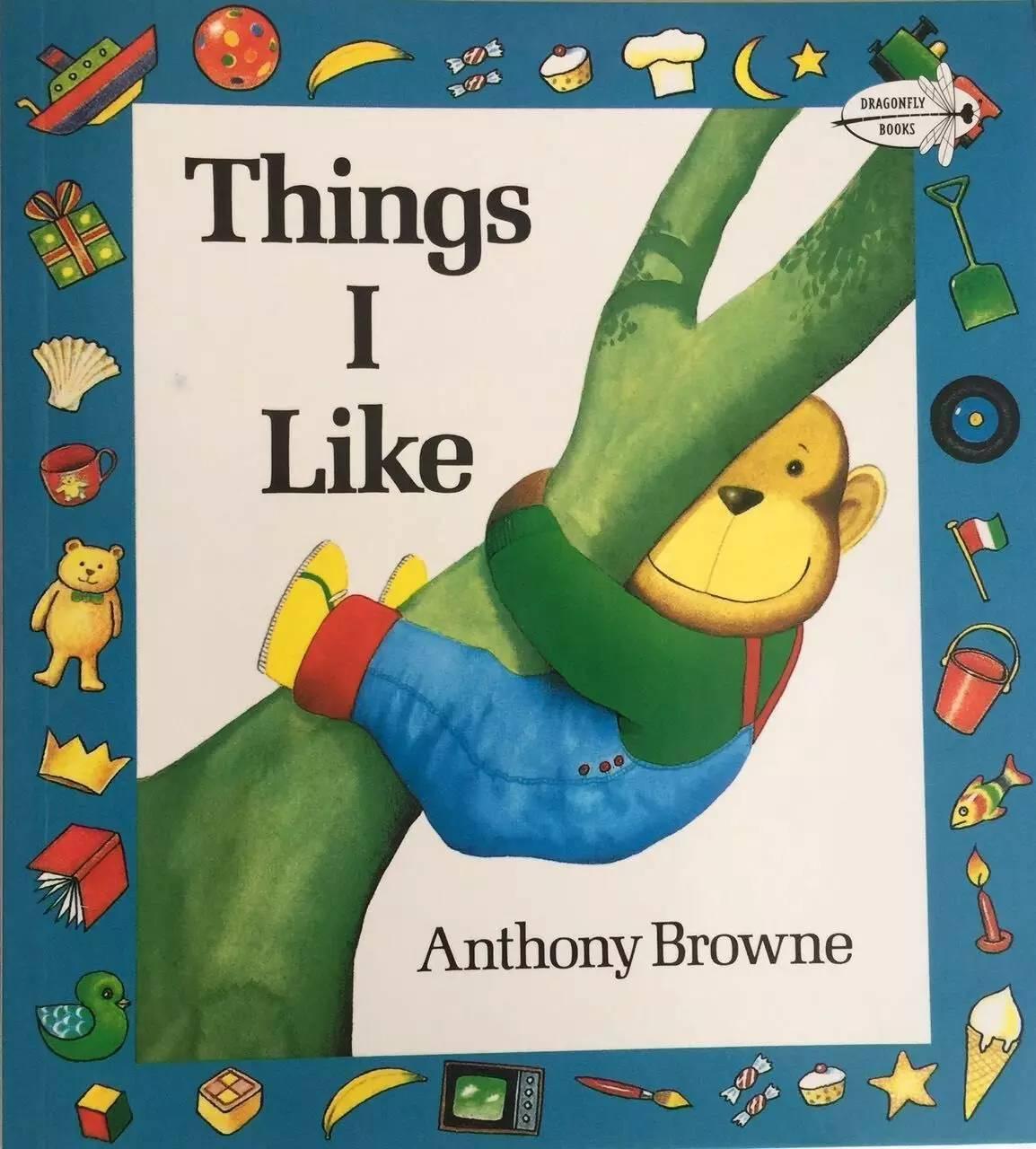 Things I Like 我喜欢的一切 -第1张图片-58绘本网-专注儿童绘本批发销售。