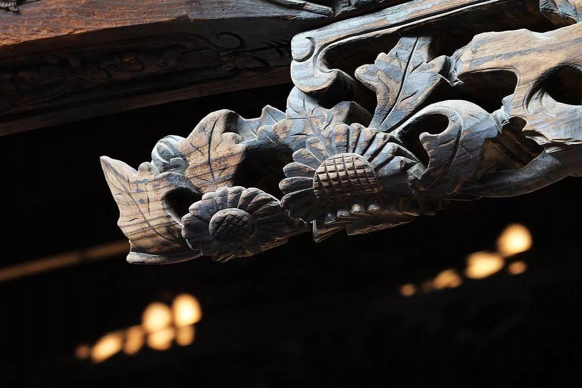 雕花,中国古建筑的深情