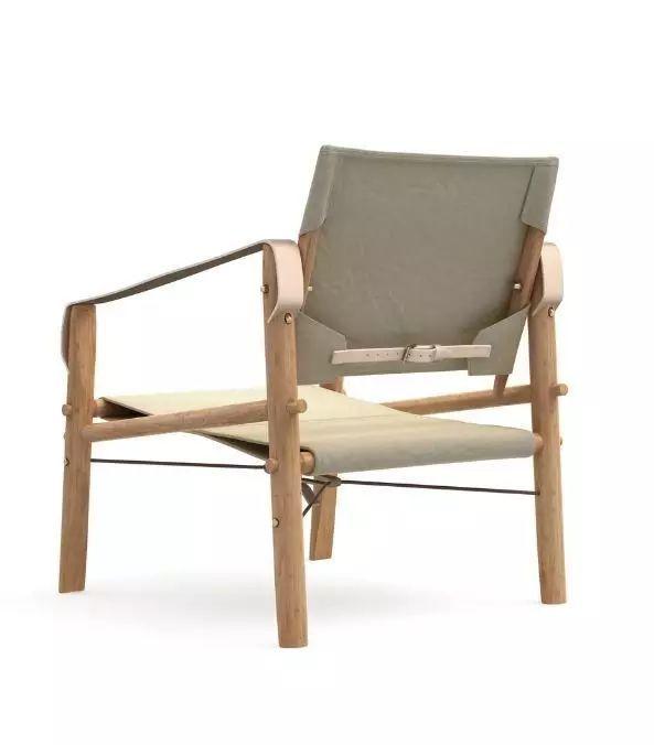 手绘椅子设计拆解图