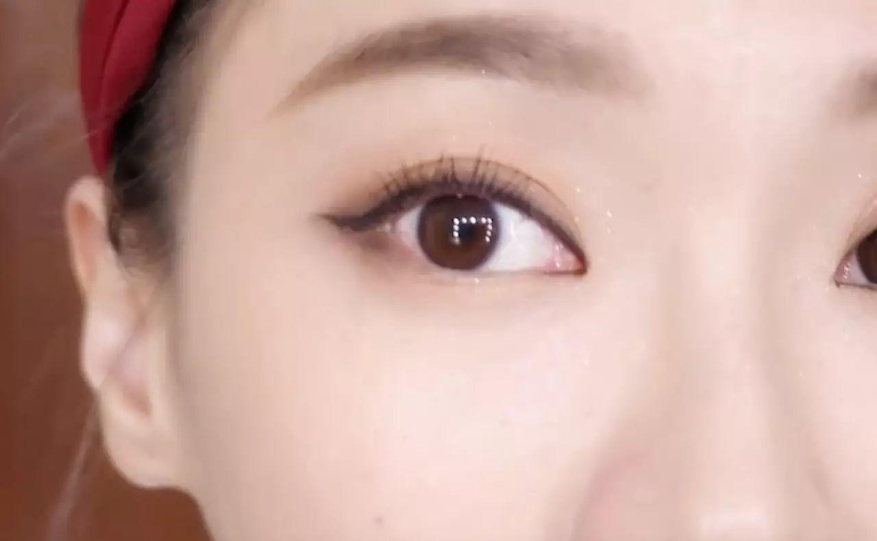 纹眉和绣眉术后对比