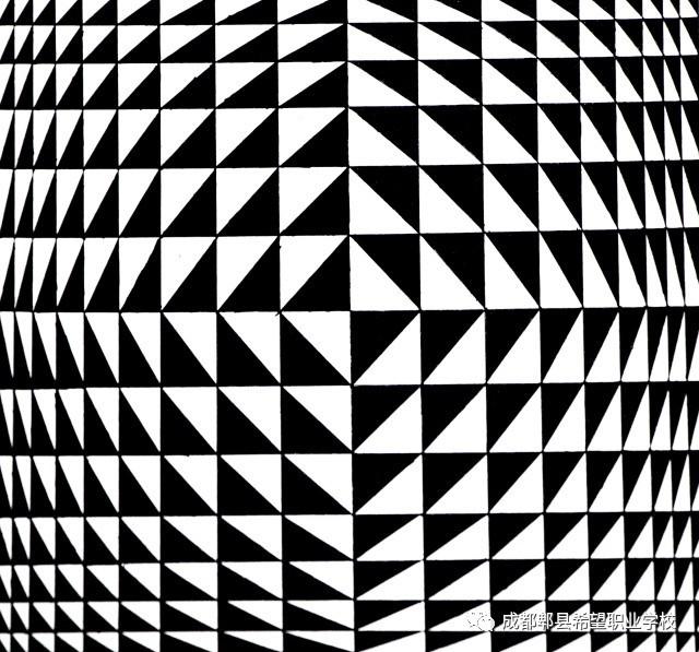 03 01 02 综合构成的设计感,发射构成的晕眩感,渐变构成的趣味性,特异图片